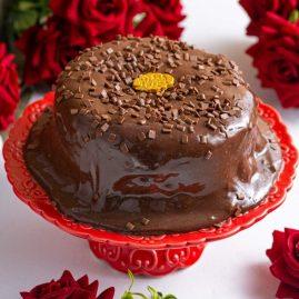 MINI CAKE DE BRIGADEIRO